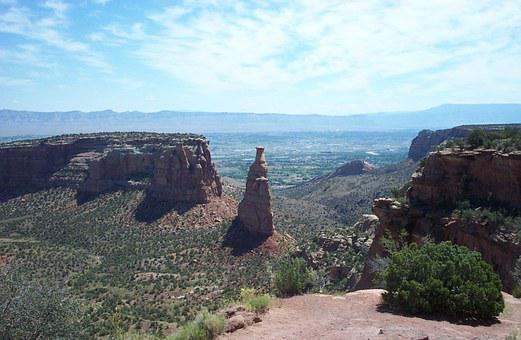 Independence Rock, Rock, Colorado National Monument