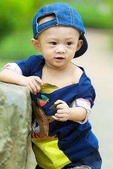 Child, Kid, Ku Shin, The Park, The Son, Cap, Jeans