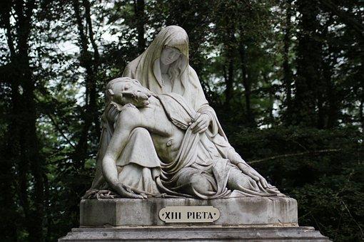 Christ, Pietat, Mary, Virgin, Suffering, Redemption
