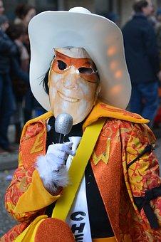Carnival, Mask, Costume, People, Dress Up, Eddy Wally