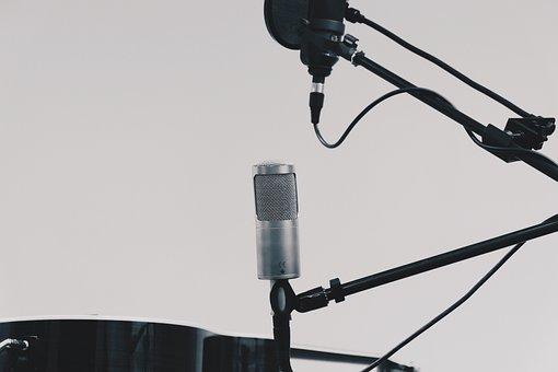 Microphone, Equipment, Technology, Radio, Audio, Sound