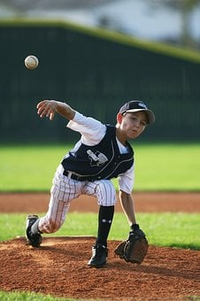Baseball, Pitcher, Youth League, Mound, Pitch, Pitching