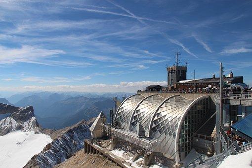 Zugspitze, Mountain, Alpine, Summit, Landscape
