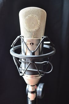Condenser Microphone, Estudio, Music, Sound, Audio