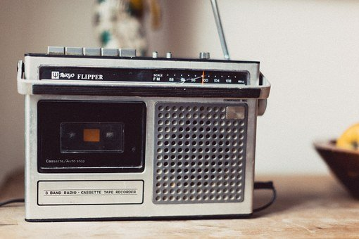Radio, Vintage, Retro, Music, Old, Sound, Audio, Media