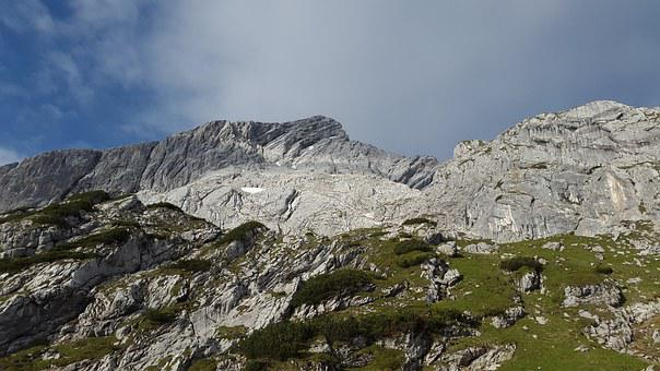 Alpspitze, Alpine, North Wall, Weather Stone, Mountain