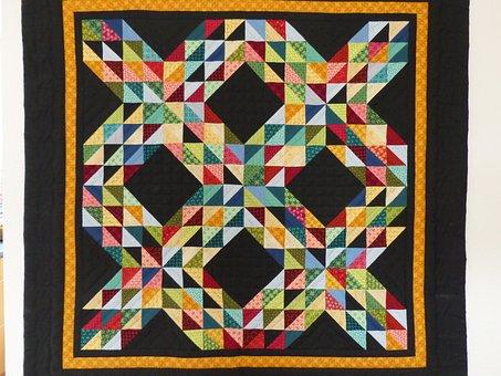 Patchwork Quilt, Patchwork, Patchwork Carpet, Blanket
