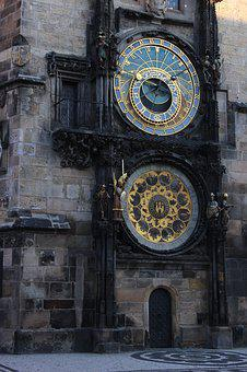 Prague, The Astronomical Clock, Old Town Hall, Time