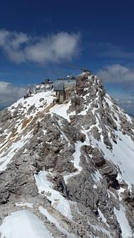 Zugspitze, Summit, Arête, Ridge, Rock Ridge