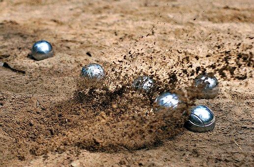 Game, Bowling, Throw, Sphere, Balls, Play, Sand, Fun