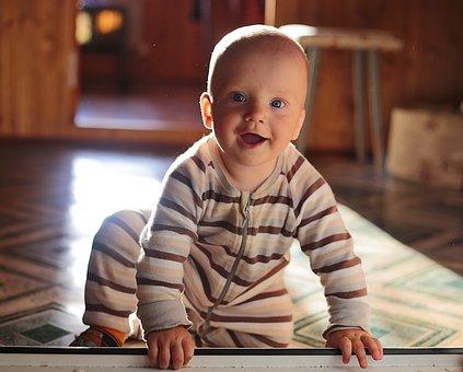 Kid, Smile, Boy, Son, Handsome Man, Photo, Baby, Family
