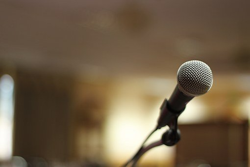 Microphone, Stage, Sound, Entertainment, Mic, Concert