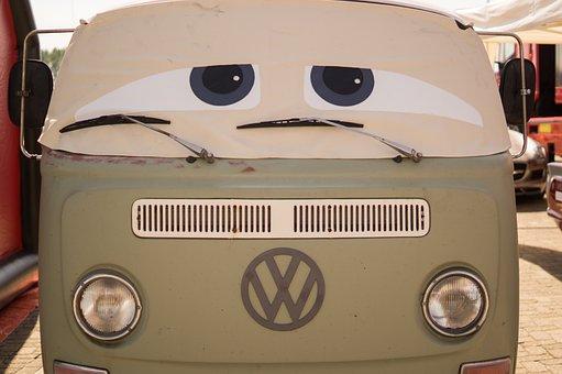 Car, Eyes, Travel, Trip, Volkswagen, Vehicle, Road