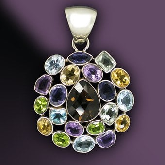 Gems, Jewellery, Trailers, Silver Jewelry, Violet