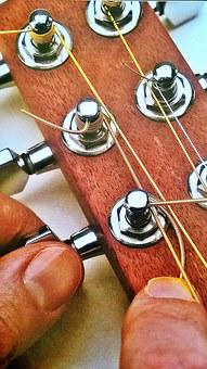Guitar, Strings, Voices, Tension Strings, Finger