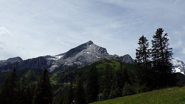 Alpspitze, Alpine, Weather Stone, Mountain