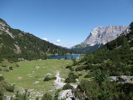 Sebensee, Gaichtal, Zugspitze