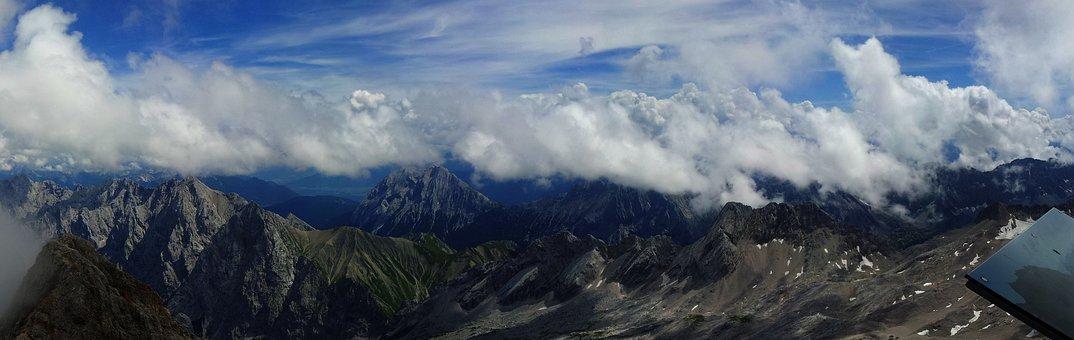 Zugspitze, Mountain, Mountain Range, Nature