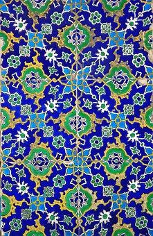 Abstract, Arabesque, Mosaic