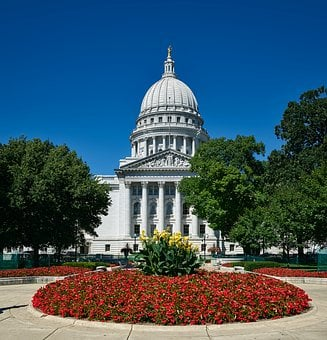 Madison, Wisconsin, State Capitol, Dome, Architecture