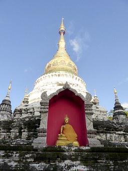 Architecture, Tample, Cheingmai, Thailand, Wat