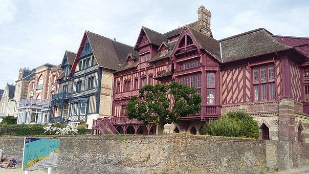 Trouville-sur-mer, France, Normandy, Architecture