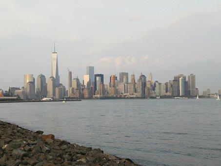 Jersey City, Liberty State Park, Skyline, Big, City