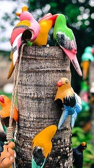 Birds, Ceramic, Pottery, Pretty