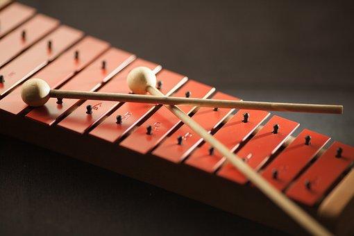 Close-up, Color, Instrument, Mallets, Music