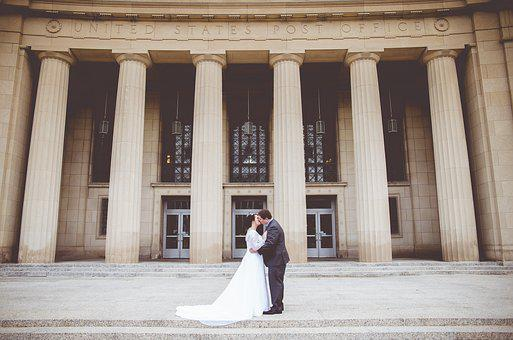 Architecture, Building, City, Couple, Daylight, Facade