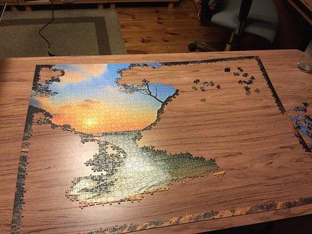 Puzzle, Put It, Game, Fun, Entertainment
