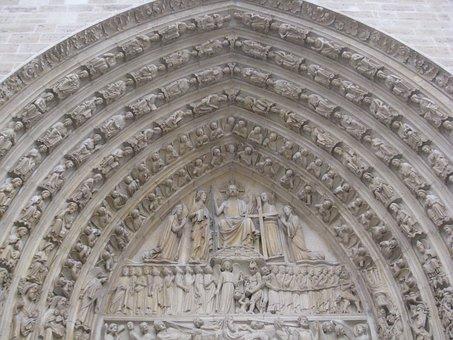 Notre Dame, Arch, Paris, France, Architecture, Europe