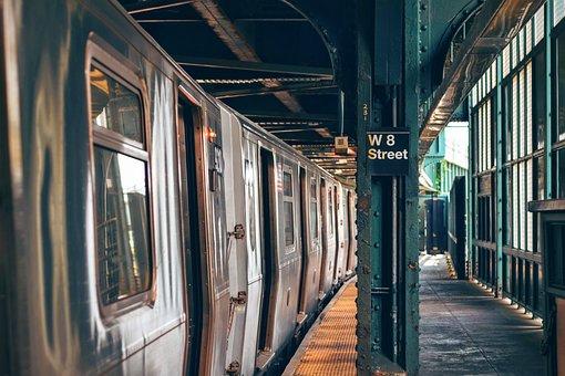 Indoors, Metro, Platform, Public Transport, Railway