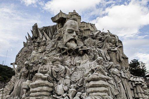 Mexico, Guanajuato, Cervantes, Monument, Travel