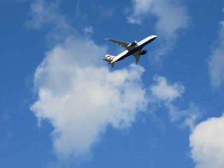 Plane, Flight, Take-off, Travel, Airplane, Aircraft