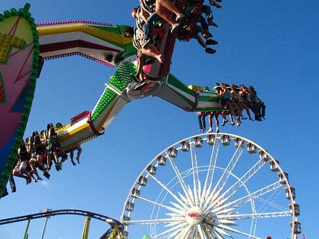 Amusement, Park, Ride, County, Fair, Orange, California