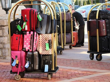 Bellman Luggage Cart, Baggage, Luggage Trolley