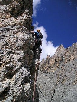 Mountaineer, Alpine Climbing, Bergsport, Climb
