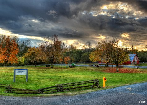 Campbell, Valley, Park, Langley, Sky, Clouds, Outdoors