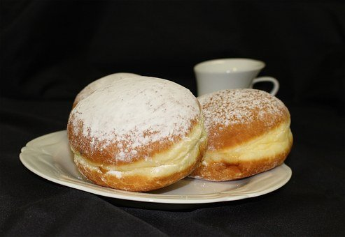 Carnival, Donut, Sweet Dish, Pastries, Dessert, Sweet