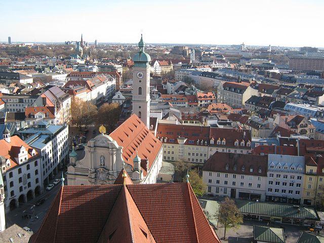 Munich, Church, Towers, Bavaria, Church Steeples