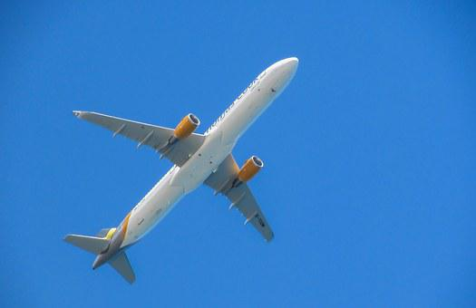 Airplane, Flying, Above, Sky, Aircraft, Flight, Jet