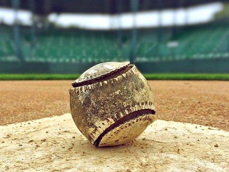 Baseball, Summer, Game, Sport, Baseball Field