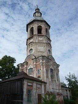 Bell Tower, Voskresenskay Church, Ostashkov, Monument