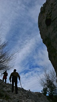 Hiking, Mountains Of Alicante, People, Mountain Sports