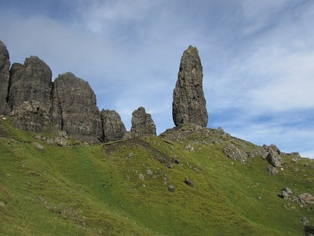 Scotland, Isle Of Skye, Old Man Of Storr, Mountain
