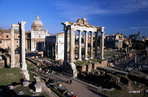 Italy, Rome, Monument, Historical Monuments, Old