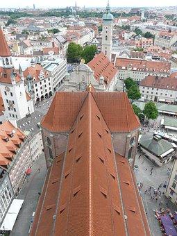 Outlook, Vision, Munich, Parish Church Saint Peter