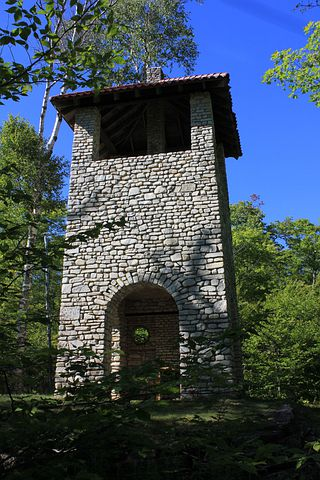 Water Tower, Usa, Wisconsin, Rock Island State Park
