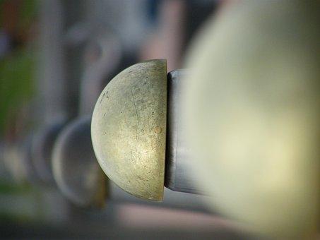 Brass, Knobs, Shine, Architectural Detail, Knob, Metal